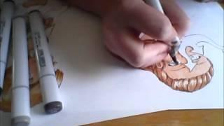 Goddess Speed drawing