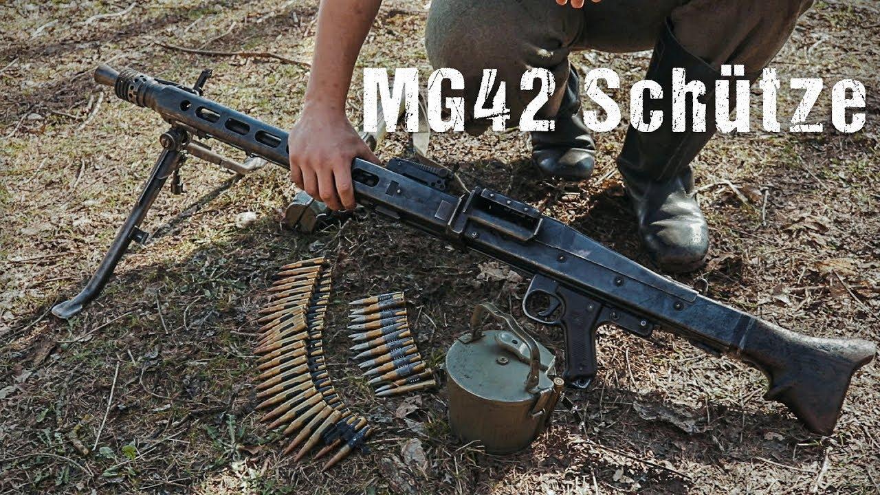 Maschinegewehr 42 Wallpaper: Wehrmacht MG 42-Schütze [Übersicht]