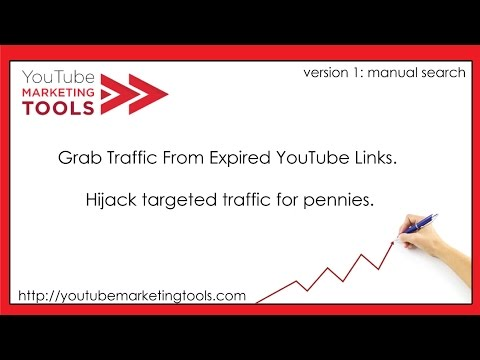 Free Website Traffic From Expired YouTube Links