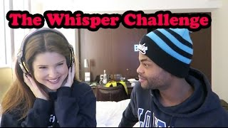 THE WHISPER CHALLENGE!!