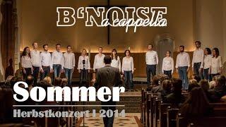 B'Noise - Sommer @ Herbstkonzert I, Friedenskirche Hamburg Altona 8.11.2014