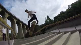Luxembourg skate sesh w/ Mathis Khelifi