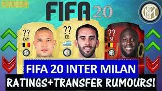 FIFA 20 | INTER MILAN PLAYER RATINGS!! FT. GODIN, LUKAKU, NAINGGOLAN ETC... (TRANSFER RUMOURS)