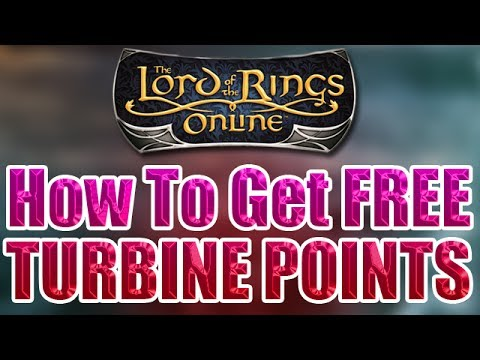 LOTRO - [ LEGAL ] The Lord Of The Rings Online - How To Get Free Turbine Points LOTRO Points