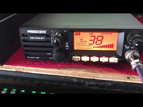 president mckinley cb radio 40 and ssb overview