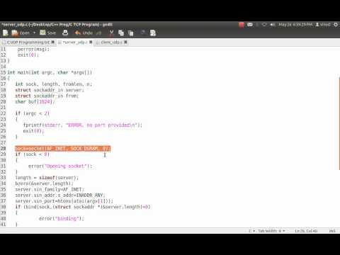 UDP Programming in C