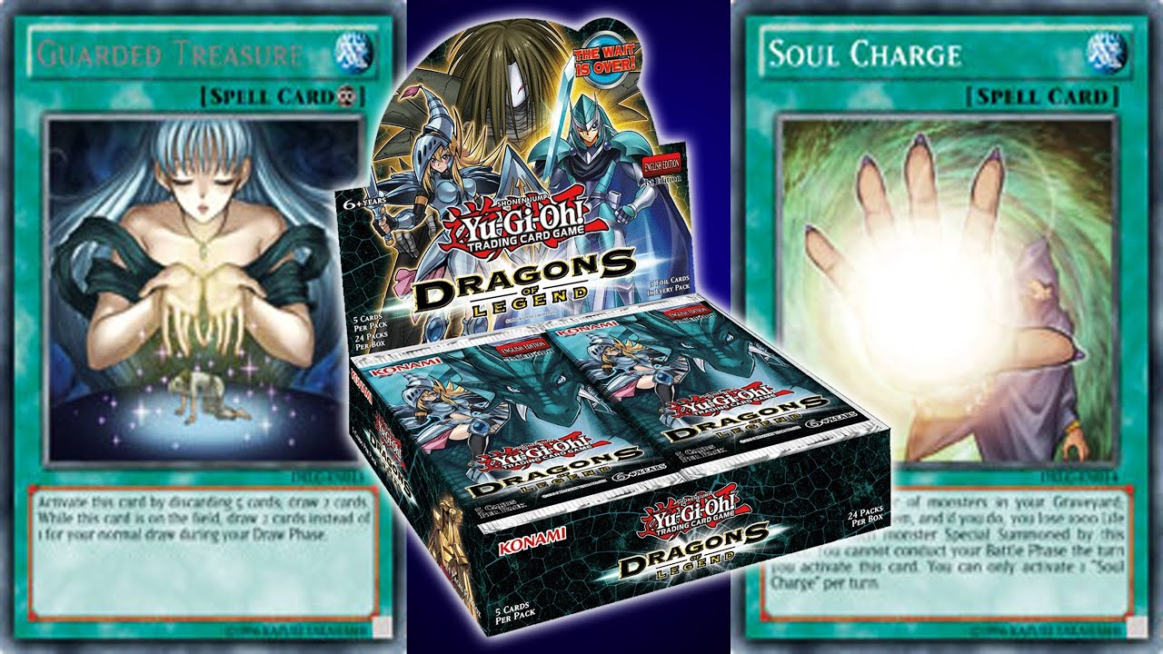 yugioh news dragons of legend two news cards revealed monster