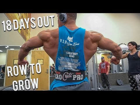 ROW TO GROW | PHOTO SHOOT IN MIAMI | 18 DAYS OUT ARNOLD CLASSIC