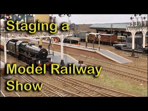 How to stage a model railway show