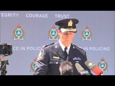 Chief Dubord's Statement to Media after Stay of Proceedings of Murder Charges