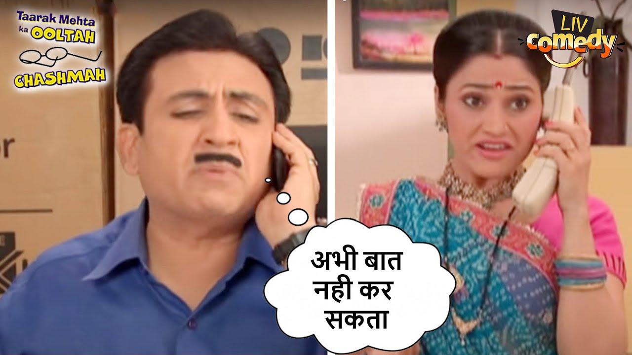क्यों है Jetha है बहुत Busy?   तारक मेहता का उल्टा चश्मा   Comedy Videos