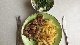 Куриная грудка в соусе Ткемали шашлычный/Рецепт от Тёмы Баменова