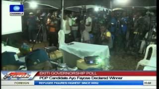 Ekiti Governorship Polls: PDP Candidate Ayo Fayose Declared Winner