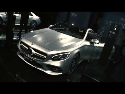 Mercedes-Benz Cars at the  2017 Frankfurt International Motor Show (IAA)