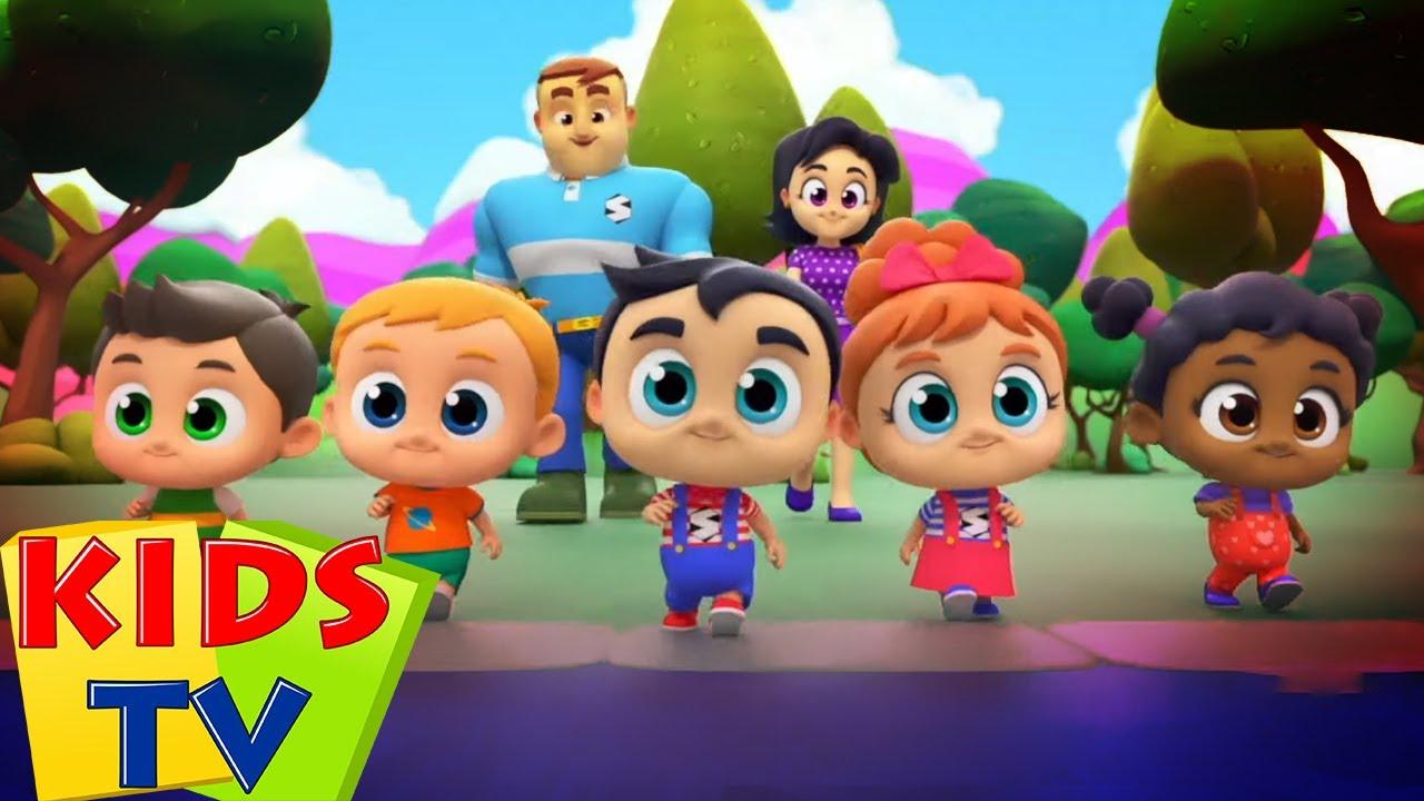 Indo ao zoológico | Canção infantil | Desenhos animado | Kids Tv em Português | Musica para bebes