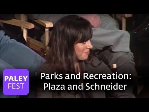 Parks & Recreation  Paul Schneider & Aubrey Plaza Paley Center, 2009