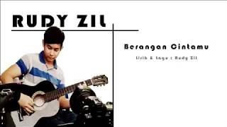 Berangan Cintamu - Rudy zil(OFFICIAL LIRIK VIDEO)