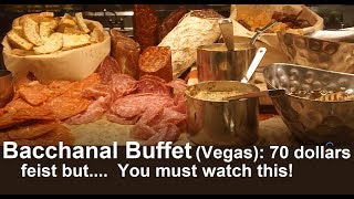 Bacchanal Buffet: 70 dollars?  You must watch this!  from top-buffet.com (full review)