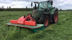 Kverneland niittokone paketti 7.2m