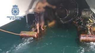 Rescatado en Tarifa un inmigrante que arriesgó su vida agazapado en las hélices de un ferry
