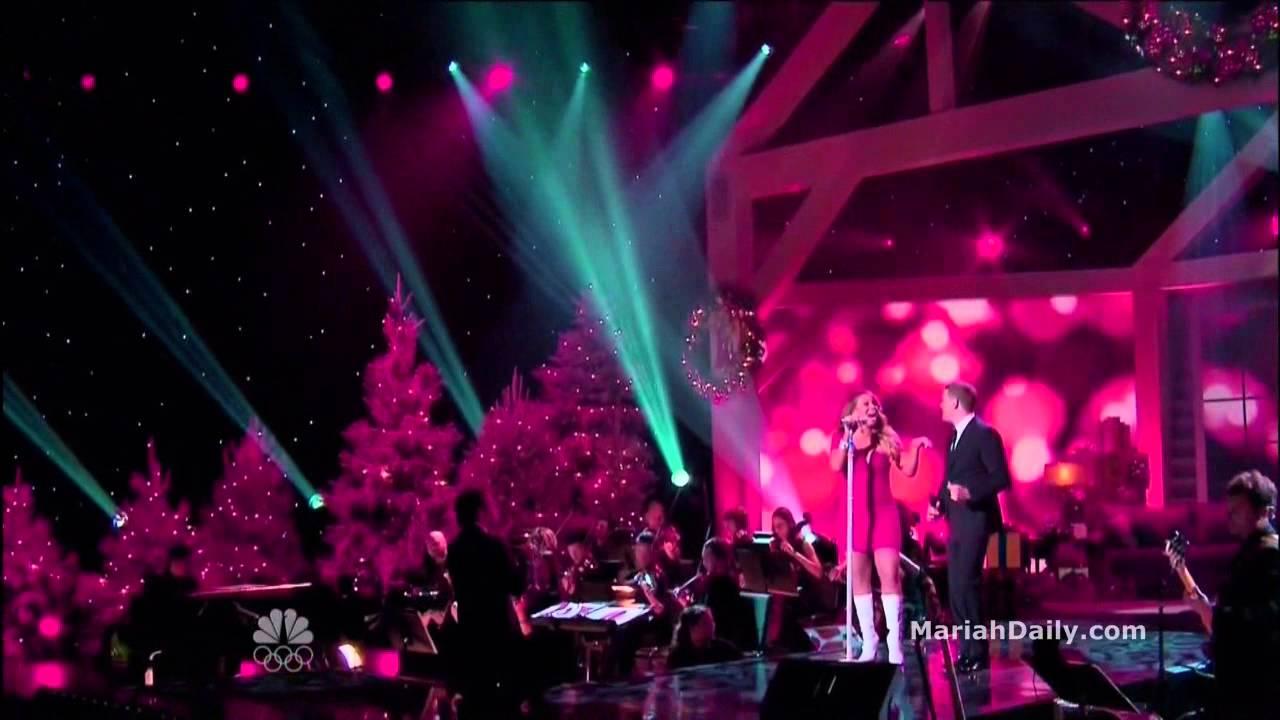 Mariah Carey and Michael Buble \