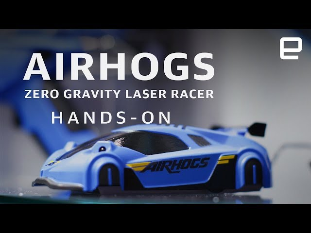 Spin Master AirHogs Zero Gravity Laser Racer Hands-On