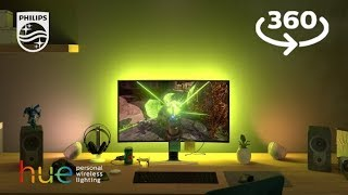 Experience next level gaming with Philips Hue Sync