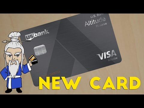 NEW CARD! U.S. Bank Altitude Reserve Details Leaked
