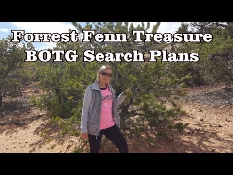 Forrest Fenn Treasure - Our First BOTG Search Plans for 2018