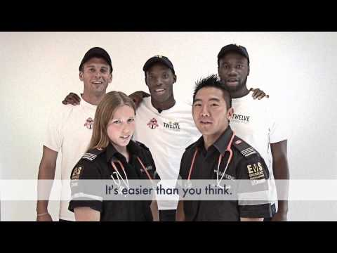 Toronto EMS Paramedics and Toronto FC - CPR Awareness Partnership