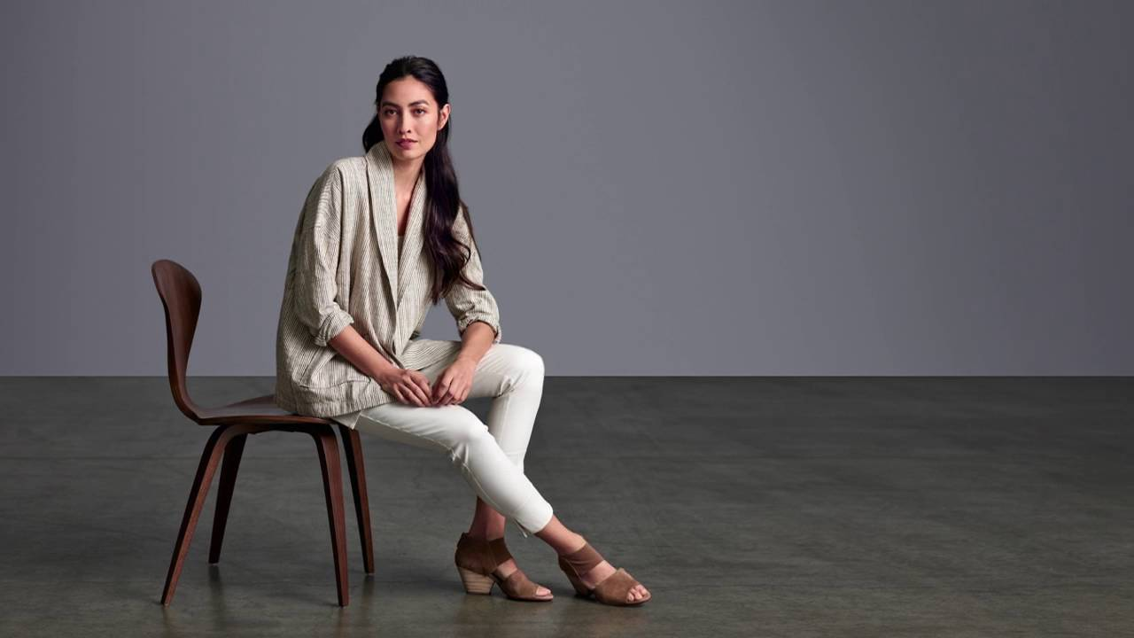 5417f31bedf EILEEN FISHER Fall Collection  July 2016 - YouTube