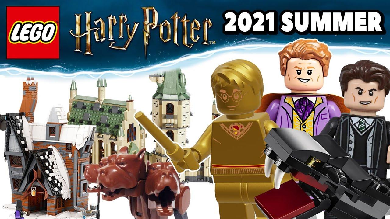 Lego Harry Potter 2021 Summer Set Leaks 20th Anniversary Golden Figures Youtube