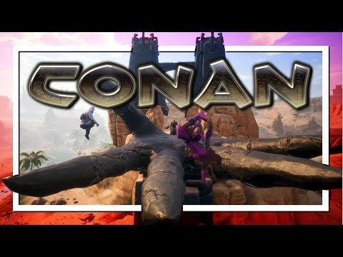 12 HR STREAM!! 🔥 (Conan Exiles) 🔥 Making A Tower Of Black Ice