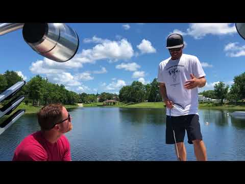 Wakeboarding Ride Along with Pro Rider Scott Stewart at The Boarding School