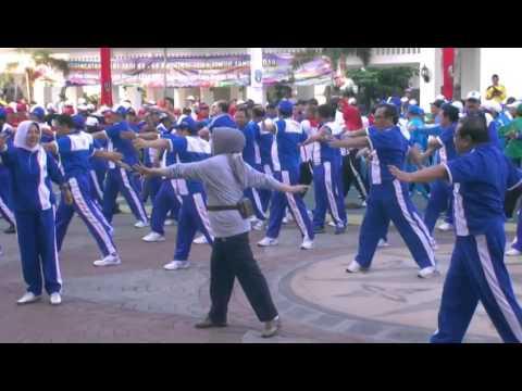 LAUNCHING PORSENIDA KORPRI PROVINSI JAWA TIMUR 2014