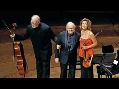 F. Mendelssohn-Bartholdy Piano Trio No.1 Op.49 in D minor, Mutter, Previn, Harrell