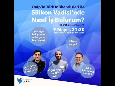Quip'in Türk Mühendisleri İle Silikon Vadisi'nde Nasıl İş Bulurum?