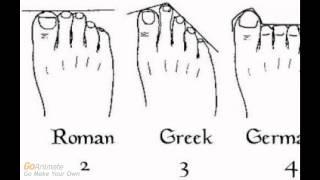 Ascendencia, Genealogía, y la Forma de Sus Dedos del Pie (Basado en esto cuales que son sus raíces