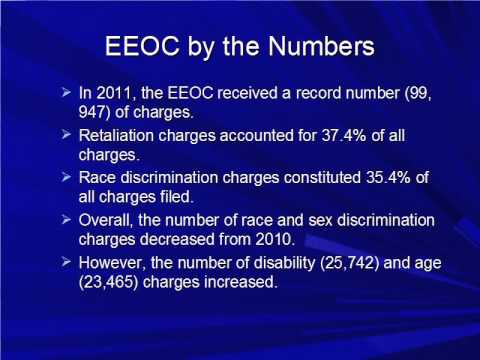 Enforcement Activity at the EEOC and OSHA - Clip - www.trainersdirect.net