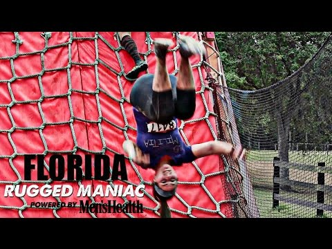 RUGGED MANIAC Obstacle Race   Florida (2017)