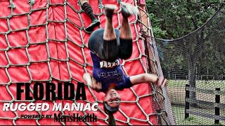RUGGED MANIAC Obstacle Race - Florida (2017)