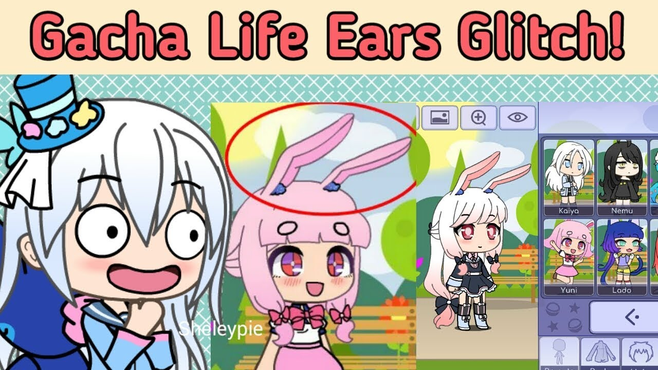 Gacha Life Glitch Ears Glitch Shout Out Youtube