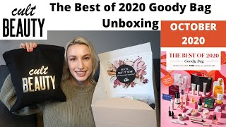 CULT BEAUTY The Best of 2020 Goody Bag UNBOXING
