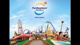 PortAventura WORLD  ДЕНЬ - 1 . Испания Порт Авентура парк аттракционов
