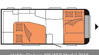 Hobby De luxe 495 WFB Model 2018