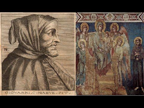 Cimabue video mostra opere realizzate dal 1268 al 1302