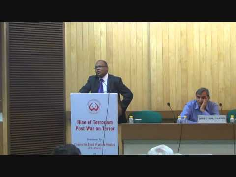 Talk by Prof Rohan Gunaratna on Rise of Terrorism