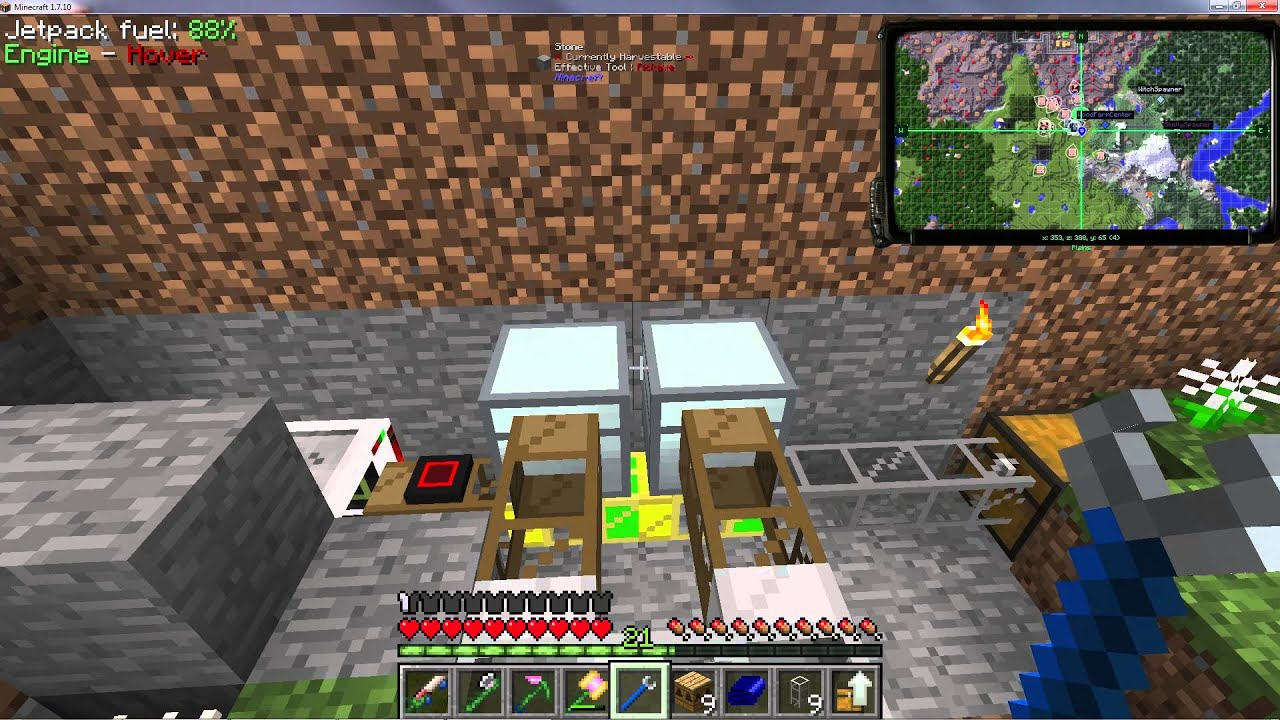 FTB - Infinity Evolved - Expert - Let's Play E13b - Automated Bee  Cross-Breeding
