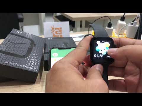 การใช้งานนาฬิกา X7 Pro Smart Watch