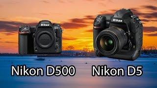 نيكون تعلن عن اصدار Nikon D5 و Nikn D500